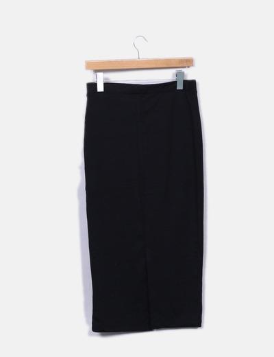 navegar por las últimas colecciones fábrica precio moderado Falda midi negra tubo