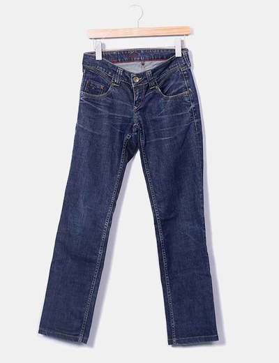 Calças jeans denim escuro Tommy Hilfiger