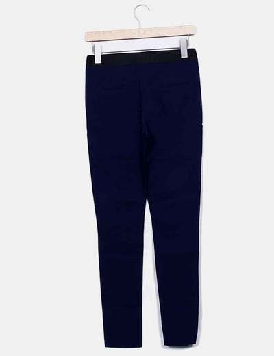 Legging azul marino con elastico