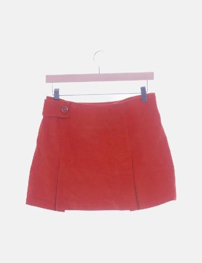 tecnicas modernas elige el más nuevo llega Minifalda tablas naranja