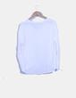 Blusa blanca oversize Bershka