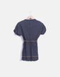 Camiseta azul marina estampada  Bershka