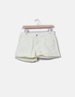 Shorts denim amarillo claro Cache Cache