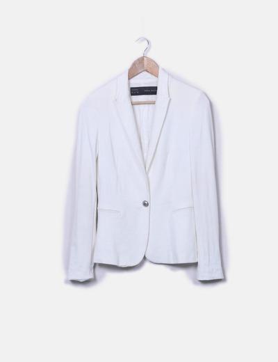 Blazer blanc Zara