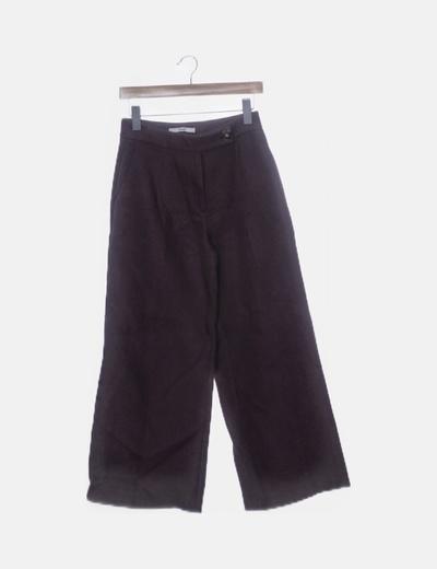 Pantalón morado recto