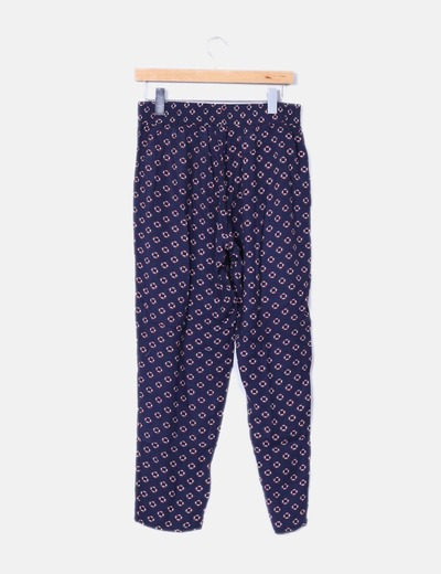 Pantalon con estampado marinero