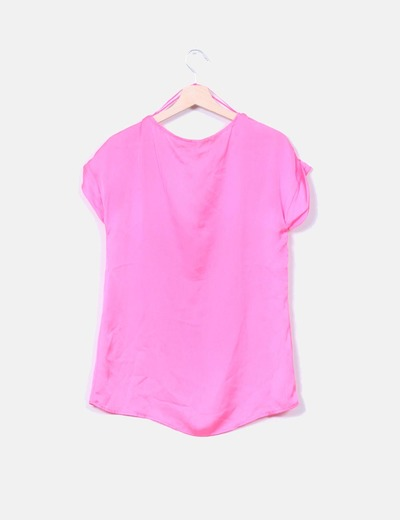 Blusa rosa fluor