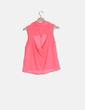 Blusa rosa flúor Bershka