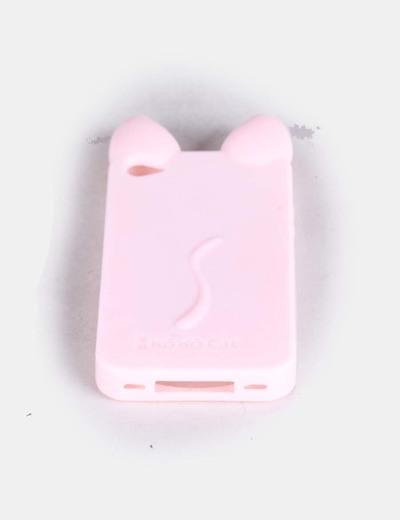 Carcasa de Iphone cat ears rosa claro NoName