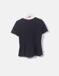Camiseta negra volante MAX&Co.