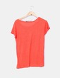 Camiseta naranja Pull&Bear