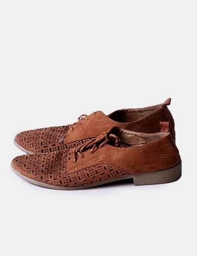 Zapato texturizado marrón Primark