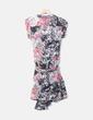 Vestido cruzado floral Hoss Intropia