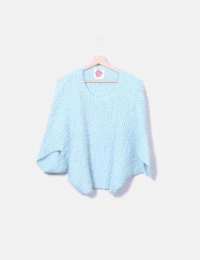 Jersey tricot de manga corta