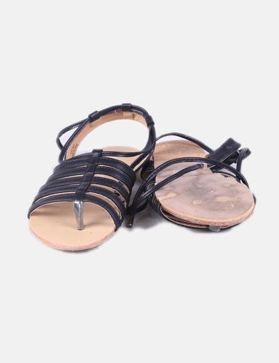 Sandalia Con Con Negras Cuerdas Cuerdas Negras Sandalia Cuerdas Sandalia Sandalia Con Negras wZiulXOTPk