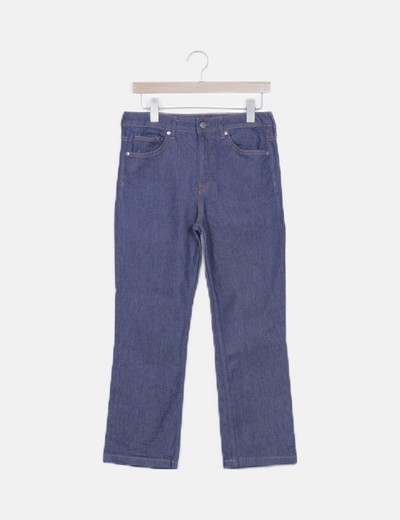 Jeans recto oscuro