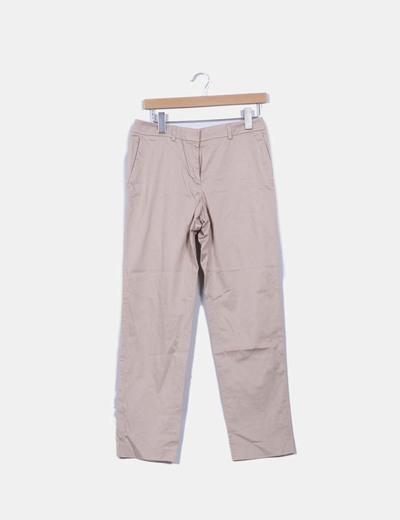 Pantalón chino beige Purificación García