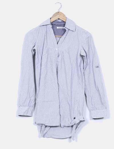 Camisola de rayas manga larga