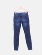 Jeans denim efecto desgastado Suiteblanco