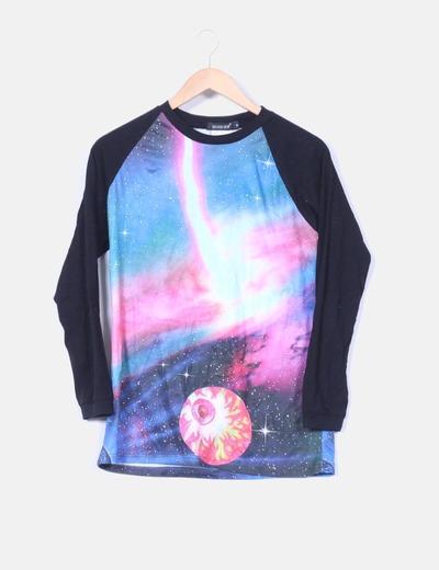 Camiseta con estampado multicolor  NoName