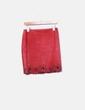 Mini falda ante roja troquelada NoName