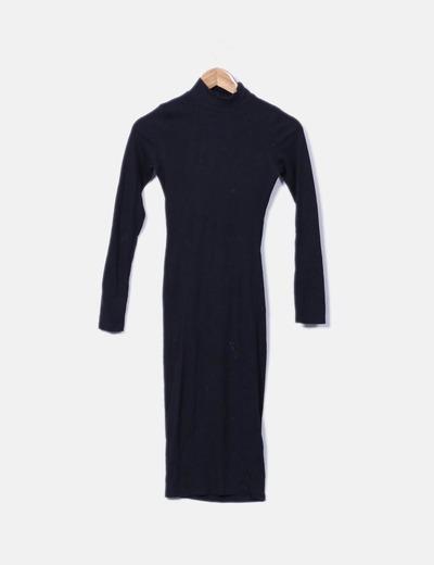Vestido ceñido de punto Pull&Bear
