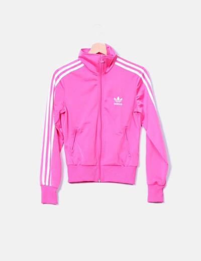 sudaderas rosa hombre adidas