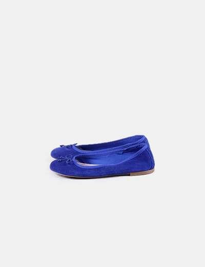 Bailarina antelina azul Gett