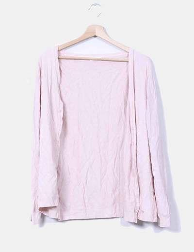 Chaqueta rosa de punto Virato