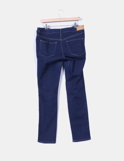 Jeans elasticos corte recto