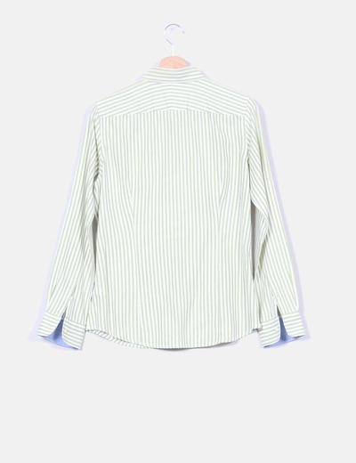 Camisa entallada a rayas