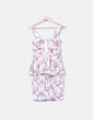 Vestido print floral Paprika