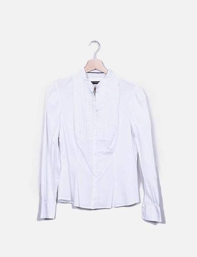 Camisa blanca detalle volantes Atmosphere