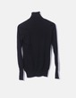 Black shirt with turtleneck Stradivarius