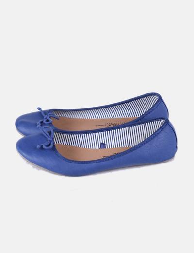 Bailarina polipiel azul Atmosphere