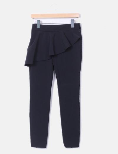Pantalón Volantes Con 57 Negro Micolet descuento Zara dq48d