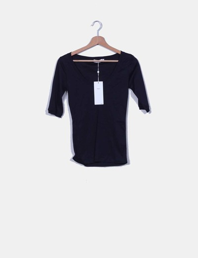 Top azul marino Filippa K
