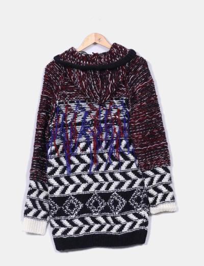 Chaqueton lana con capucha