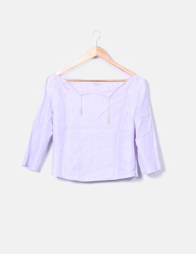 Blusa malva Tex Woman
