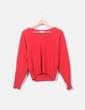 Jersey rojo tricot Bimba&Lola