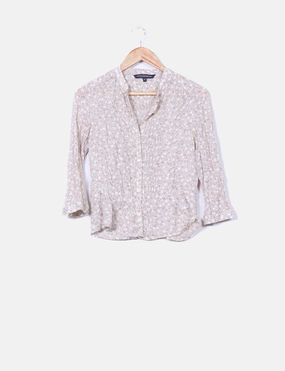 Blusa  estampado floral  French Connection