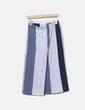 Falda de rayas combinada NoName
