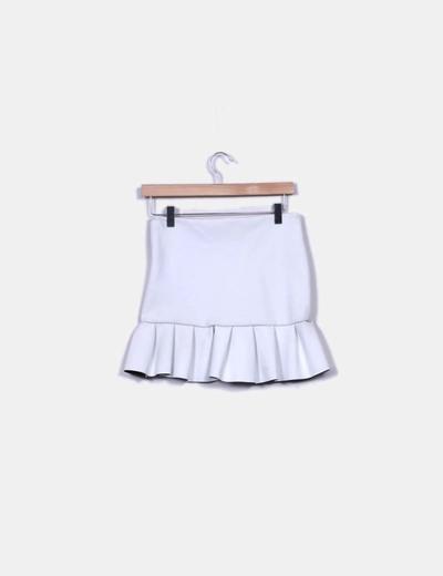 Falda blanca neopreno