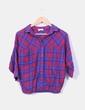 Camisa bicolor de cuadros Pull&Bear