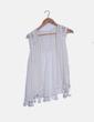 Chaleco crochet blanco NoName
