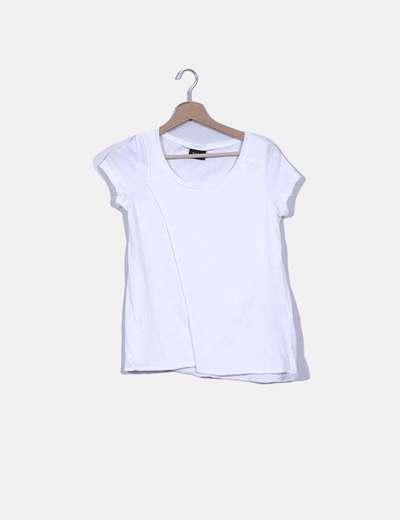 Camiseta cruzada blanca VILA