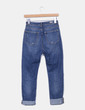 Jeans denim azul con rotos Double Agent