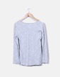 Camiseta gris print estrellas NoName