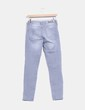 Pantalón pitillo gris Lefties