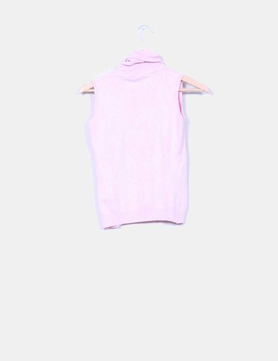 Jersey rosa sin mangas